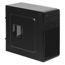 Корпус ATX ACCORD ACC-B202, Mini-Tower, без БП, черный
