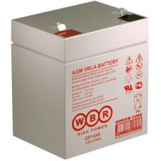 Аккумулятор WBR GP 1245 12V, 4.5Ah
