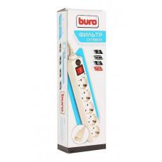 Сетевой фильтр Buro 500SH-1.8-UPS-W