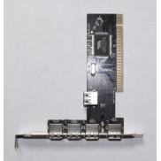 Плата расширения AGestar VIA USB2.0 Card 4 Port+1 PCI